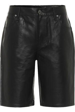 RTA Jami leather shorts
