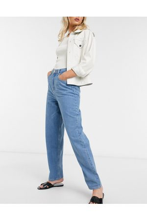 French Connection Reem Sustainable Oversized Boyfriend Jeans in Mid Vintage Blue