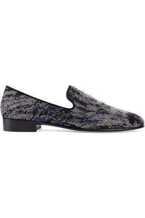 Giuseppe Zanotti Lewis embellished loafers