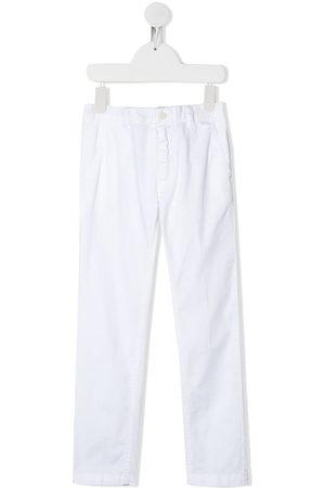 Il gufo Fitted chino trousers