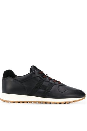 Hogan H383 low-top leather sneakers