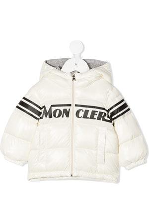 Moncler Goose-down hooded jacket
