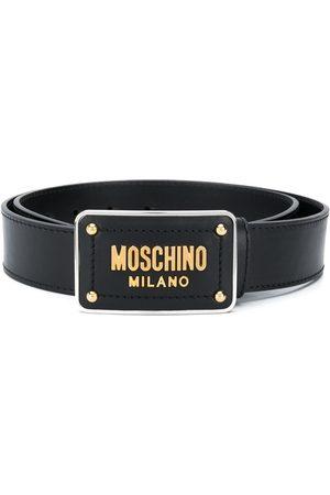 Moschino Lettering logo belt