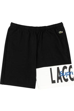 Supreme Heren Korte sportbroeken - X Lacoste logo sweatshorts