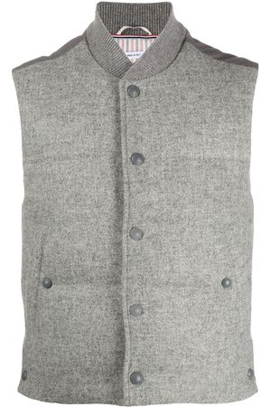 Thom Browne Snap button padded gilet