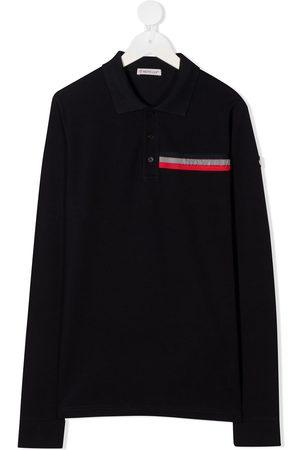 Moncler Long sleeve embossed logo shirt
