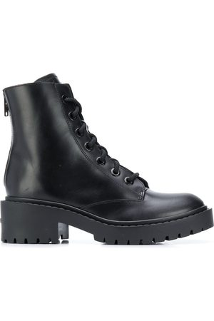 Kenzo Calf leather ankle biker boots