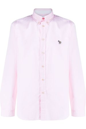 Paul Smith Heren Lange mouw - Long sleeve zebra patch shirt