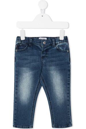 Moschino Light-wash skinny jeans