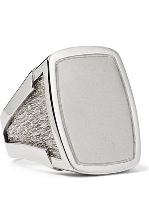 Bottega Veneta Sterling Signet Ring