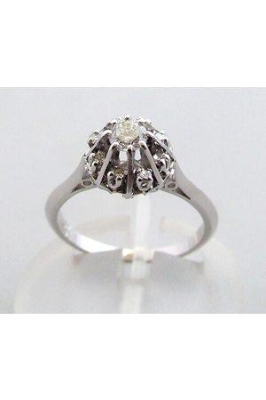 Christian Dames Ringen - Rozetring met diamanten