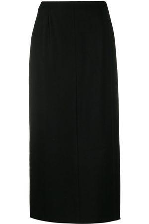 Gianfranco Ferré 1990s straight-fit midi skirt