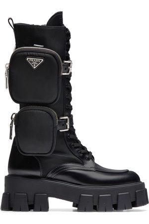 Prada Dames Laarzen - Chunky sole boots