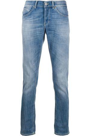 Dondup Straight-leg stonewashed jeans