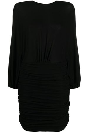 ALEXANDRE VAUTHIER Ruched jersey cocktail dress