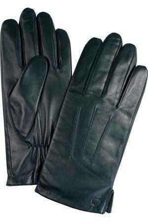 Profuomo Zwarte nappa leren handschoenen heren