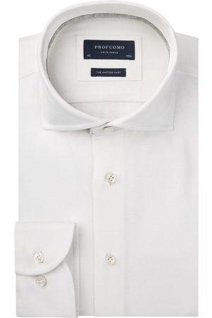 Profuomo Heren Overhemden - Knitted overhemd Originale heren