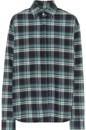RTA Brady checked cotton shirt