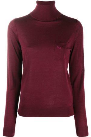 Dsquared2 Roll-neck wool jumper