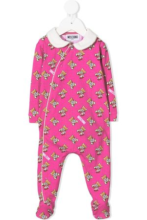 Moschino Teddy bear print pajamas