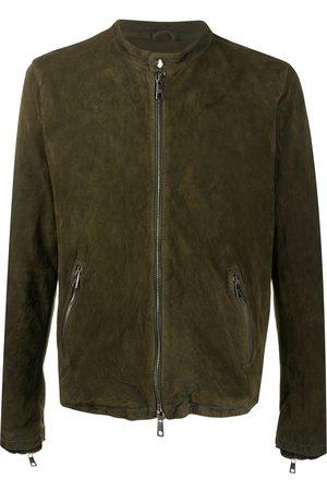 GIORGIO BRATO Heren Leren jassen - Suede bomber jacket