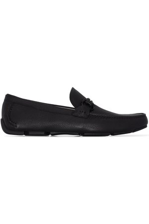 Salvatore Ferragamo Heren Loafers - Front 4 leather loafers