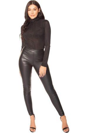 LA sisters Faux Leather Legging