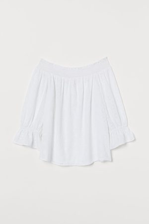 H&M Off-the-shoulderbloes