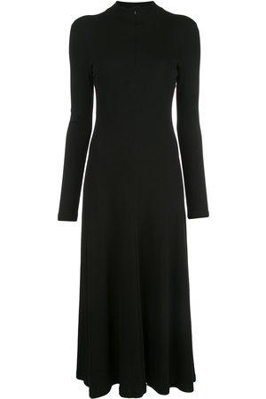 ROSETTA GETTY Long sleeve zip-up turtleneck dress