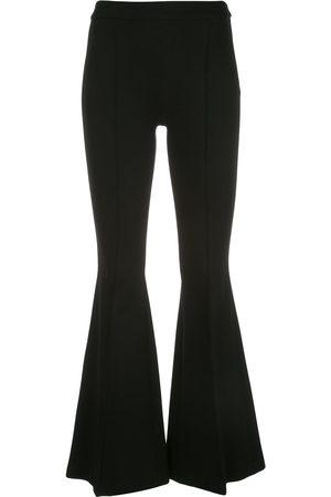 ROSETTA GETTY Pintuck flared trousers