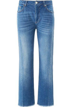 DAY.LIKE Enkellange Wide Fit-jeans in 5-pocketsmodel Van denim