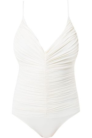 CLUBE BOSSA Chalou draped swimsuit
