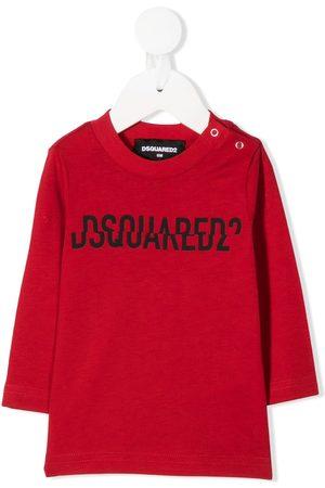 Dsquared2 Split logo-print sweatshirt