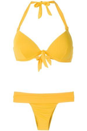AMIR SLAMA Triangle top bikini set