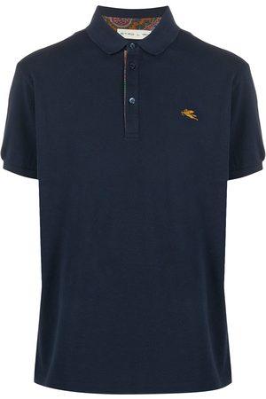 Etro Embroidered logo polo short