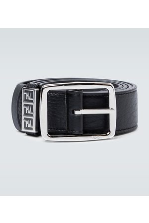 Fendi Heren Riemen - Classic buckle leather belt