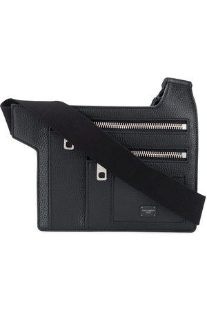 Dolce & Gabbana Angular multi-zip leather belt bag