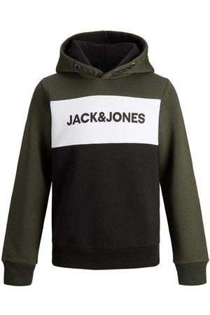 Jack & Jones Jongens Logo Sweat Hoodie Heren Green