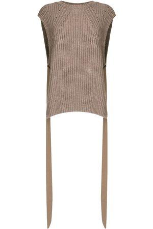 GOEN.J Dames Sweaters - Side-tie sweater vest