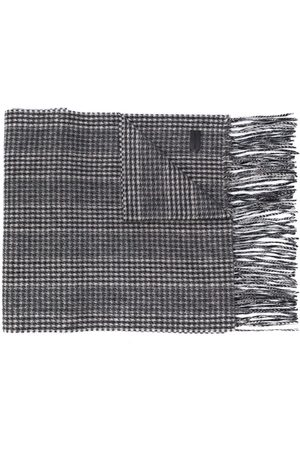 Saint Laurent Houndstooth scarf