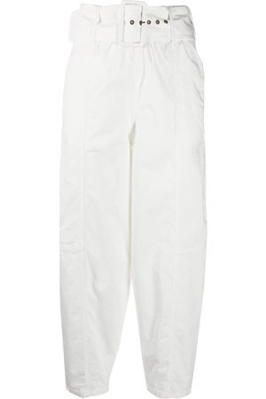 See by Chloé High-waist belted tapered trousers