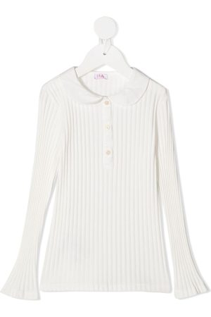 Il gufo Ribbed long-sleeved top