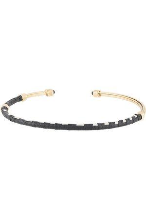 Gas Bijoux Ariane raffia choker necklace