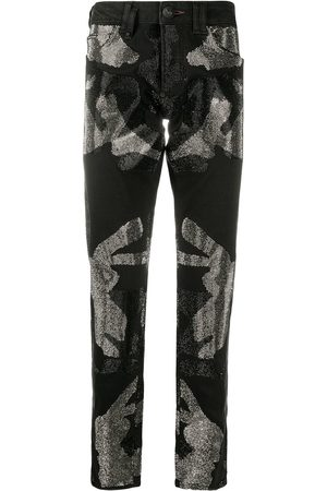 Philipp Plein Camouflage Super Straight Cut jeans