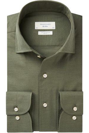 Profuomo Heren Overhemden - Twill overhemd Sky Blue heren