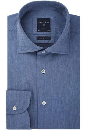 Profuomo Twill overhemd Originale heren