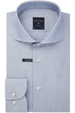 Profuomo Heren Overhemden - Jacquard overhemd Originale heren