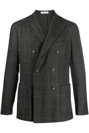 Boglioli Double-breasted check pattern blazer