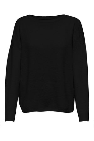 Only Loose Knitted Pullover Dames Zwart