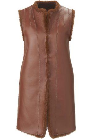 portray berlin Dames Gilets - Tweezijdig te dragen mouwloos vest